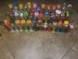 Pez Candy Dispensers Lot Whistle Flintstones Goofy Whinney The Poo. Simpsons.