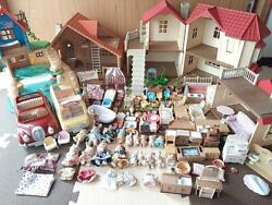 Sylvanian Families House, Furniture ,dolls And Accessories Sets F/s From Japan