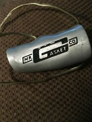 Vintage Mr Gasket T Handle 3/8 1/2x20 Shift Knob Used With Push Button Switch