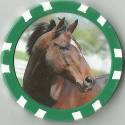 Cigar 18 In Top 100 Race Horses Horse Racing Collector Chip
