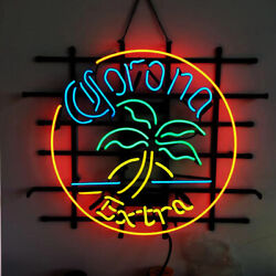 Neon Signs Gift Corona Extra Beer Bar Pub Store Party Home Room Wall Decor 19x15