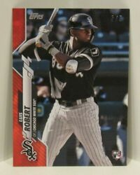 Luis Robert 2020 Topps Mini On Demand 392 Red 5/5 Chicago White Sox Rookie