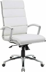 Boss Office Products Executive Chair White New