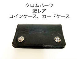Chrome Hearts Card Case With Grommet Black Free Shipping From Japan