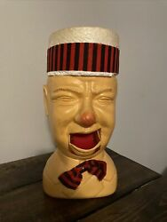 Vintage Poynter Products Extremely Rare Wcfields Old Man Open Mouth Gag Toy