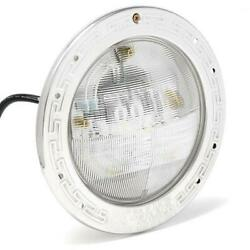 Pentair Intellibrite 5g White Led 120v With Stainless Steel Face Ring Pool Light