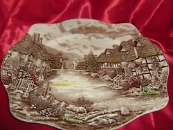 Johnson Brothers Old English Countryside Brown Platter