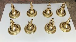 Nautical Replace Marine Smooth Brass Pendant/ceiling/mount/hanging Light Lot 10