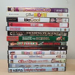 Lot Of 14 Dvd's - Adult Comedy South Park Simpsons Chevy Chase Aykroid Dunham