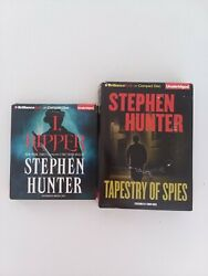 Ripper amp; Tapestry of Spies by Stephen Hunter Unabridged Brilliance Audio 9 10