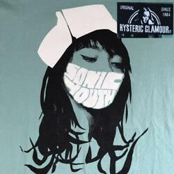 Hysteric Glamor Sonic Nurse Men's T-shirt Used Size M Free Shipping From Japan