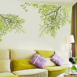 Green Tree Wall Stickers Removable Vinyl Decal Mural Home Decor