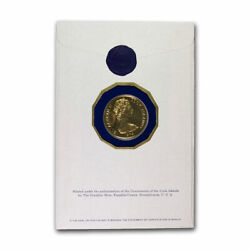 1979 Cook Islands Gold 200 Legacy Of Captain Cook Abrasions