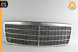 92-94 Mercedes W140 300sd S500 Front Hood Radiator Grille Grill Chrome Oem