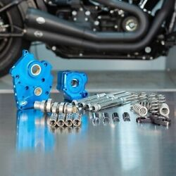Sands Chain Drive 540c Cam Chest Kit Chrome Tubes Harley Water Cooled M8 17-up