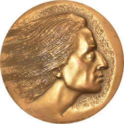 [5261] France, Medal, Musique, Frédéric Chopin, Arts And Culture, 1980
