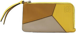 Loewe Womenand039s Puzzle Coin And Card Holder Leather Wallet
