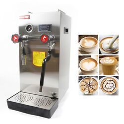8l Led Commercial Steam Boiling Water Frothing Machine Milk Bubble Machine 2.5kw