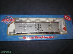 Very Rare Atlas 8182-2 Canadian Ttos Pacific Great East 40' Wood Reefer Car 819