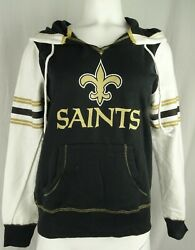 New Orleans Saints Nfl Majestic Womenand039s Graphic Hoodie