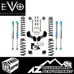 Evo Mfg 4.5 Enforcer Overland S1 W/evo Spec 2.0 Kings For And03918+ Jeep Wrangler Jl