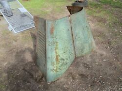 Vintage 1938 Ford Truck Hood Hinged Butterfly Style With Sides