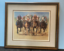 Nancy N.a. Noel Signed Odds Are 117th Kentucky Derby Strike The Gold