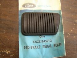 Nos Oem Ford 1965 1966 Mustang Brake Pedal Pad Manual Transmission Shelby Gt350