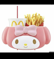 Mcdonald's X My Melody Drink And Potato Holder Sanrio Use In The Car Japan F/s
