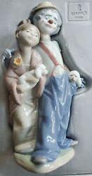Lladro Pals Forever Nuevos Amigos 07686 Figurine Hand Signed 1999 With Box