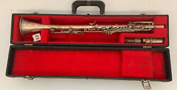 Antique Hn White The Gladiator Silver Nickel Clarinet Sold As Not Working Parts