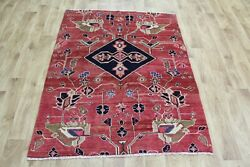 Old North West Persian Rug 150 X 117 Cm Hand Knotted Oriental Wool Rug