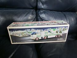 2006 Hess Toy Truck And Helicopter Holiday New