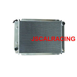 Aluminum Radiator For Ford Mustang Gt Gl Glx Gt Ghia V8 79-93 3rows At Mt 138b