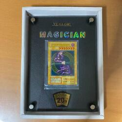 Yu-gi-oh Black Magician Unopened 20th Anniversary Collectable Card F/s From Jp