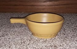 Mt Clemens Mccoy Open Individual Soup Bowl Handled Usa Vintage Pottery