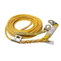 Guardian 50 Ft. Vertical Life Line Assembly Poly Rope Safety Harness