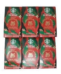 Starbucks Christmas Blend Vintage 2019 Instant Coffee - 72 Packets Exp June 2020