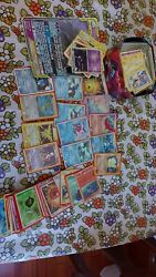 Crazy Lot Pokemon Old School Cards Holographics