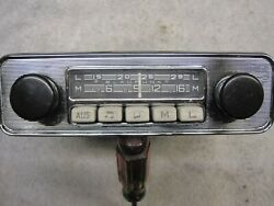 Blaupunkt Bremen W717638 Radio - Works Looks Good Tested As 12-volt And - Ground
