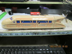 Lionel Trains American Legend Wind Up Tin Train With Spinning Propeller No Key