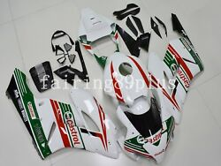 White Green Red Castrol Abs Injection Fairing Kit Fit For 2004 2005 Cbr1000rr