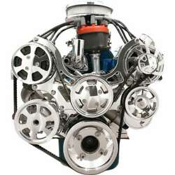 Billet Specialties 13600 Serpentine System Ford W/ P/s And A/c