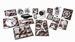 Billet Specialties 13220wp Serpentine System Sbc Chevy W/ P/s And A/c Premium