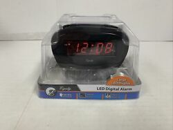 Equity by La Crosse Model 30228 LED Alarm Clock Red LED Display New In Package