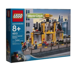 Lego World City Trains Grand Central Station 4513