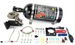 Nitrous Outlet 2011-2014 Ford 3.7lv6 Mustang Hardline Plate System 50-200hp 1