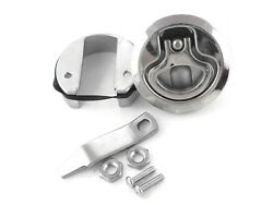 New Oem Southco Marine Boat Hatch Lock W/ Lift Handle 3 Stainless Steel Usa