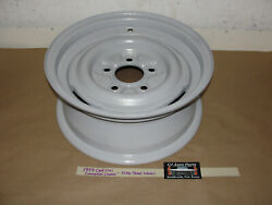 Oem 1959 59 Cadillac Commercial Chassis 15x6 Steel Wheel Rim