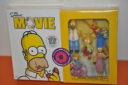 The Simpsons 2007 Movie Dvd Boxed Combo Pack With Exclusive Figures=unopened